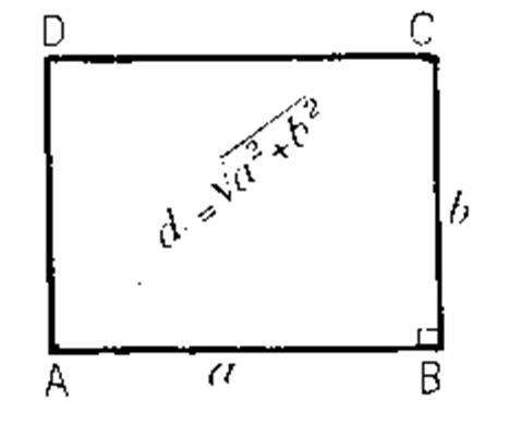 Le rectangle et ses caract ristiques - Calcul diagonale carre ...