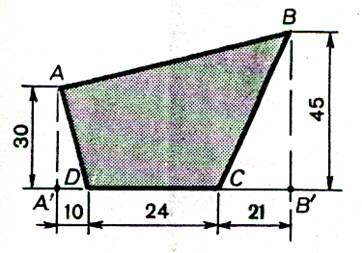 devoir sur les calculs d 39 aire d 39 un polygone irr gulier. Black Bedroom Furniture Sets. Home Design Ideas